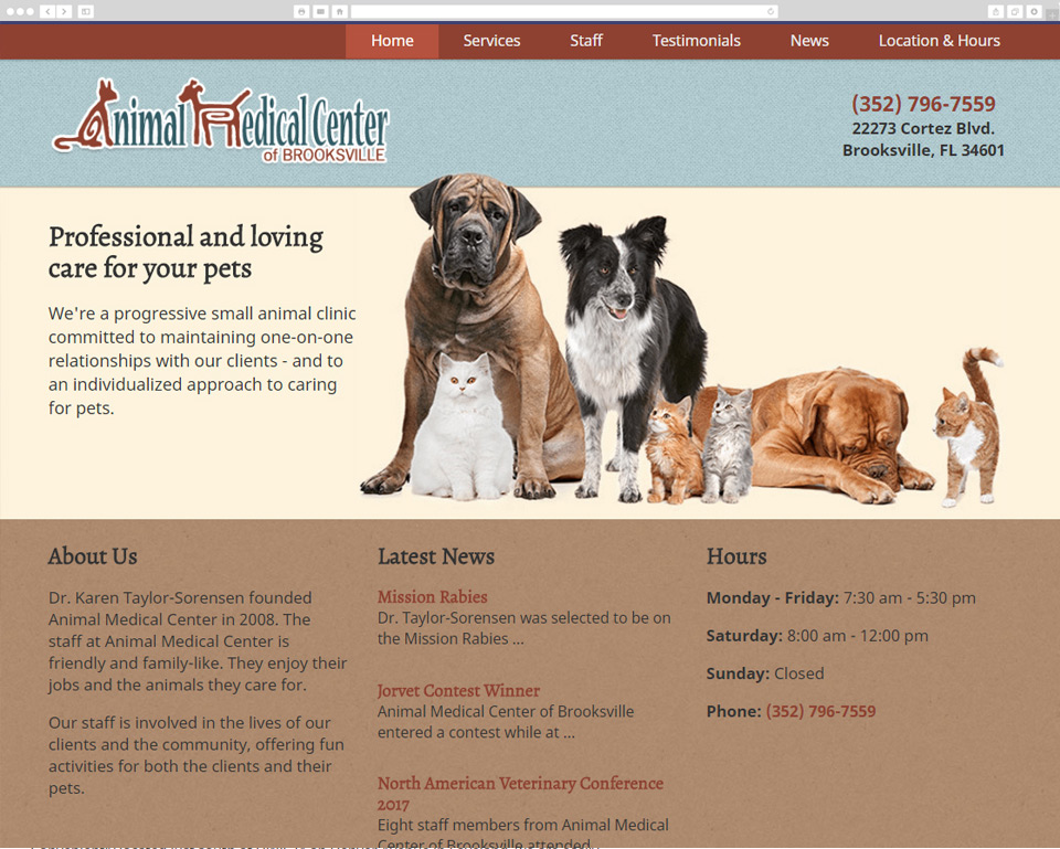 Animal Medical Center screenshot
