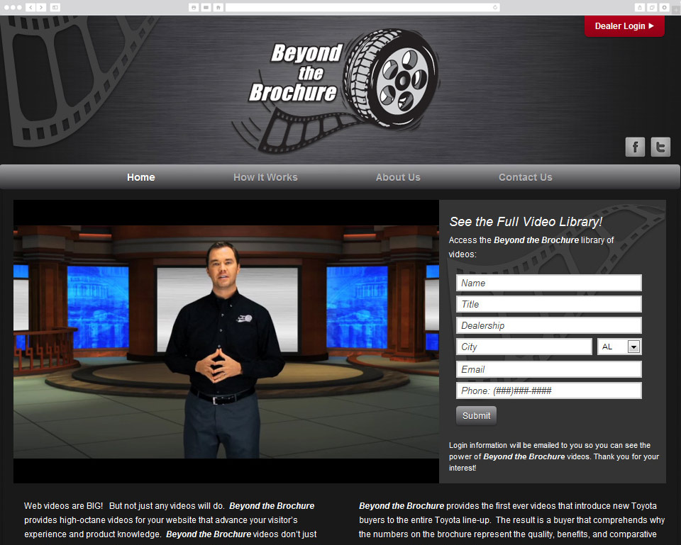 Beyond the Brochure screenshot