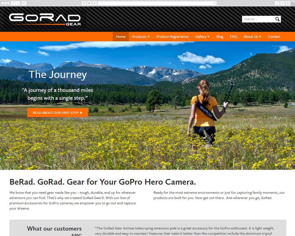 GoRad Gear screenshot
