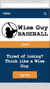 Wise Guy Baseball screenshot