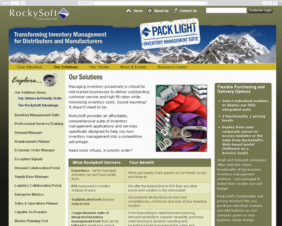 RockySoft screenshot