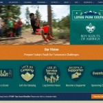 Desktop screenshot of Longs Peak Council BSA