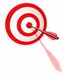 Get on target with web marketing services