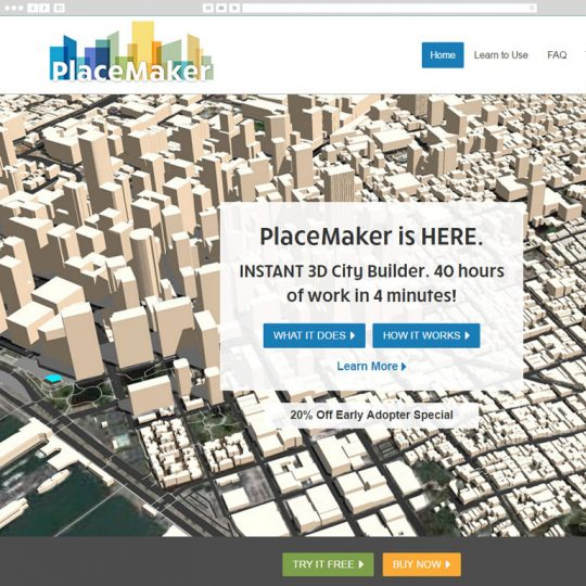 PlaceMaker desktop screenshot