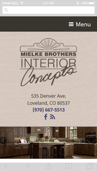 Mielke Bros. mobile screenshot