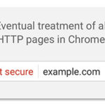 Chrome treatment of HTTP