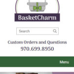 Basketcharm mobile screenshot