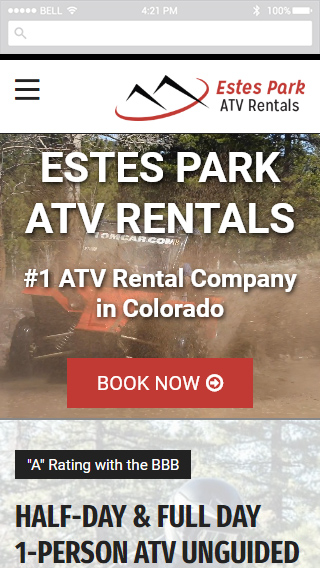 Estes Park ATV Rentals mobile screenshot