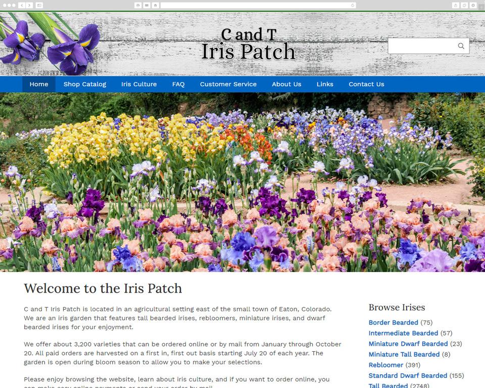 Iris Patch desktop screenshot